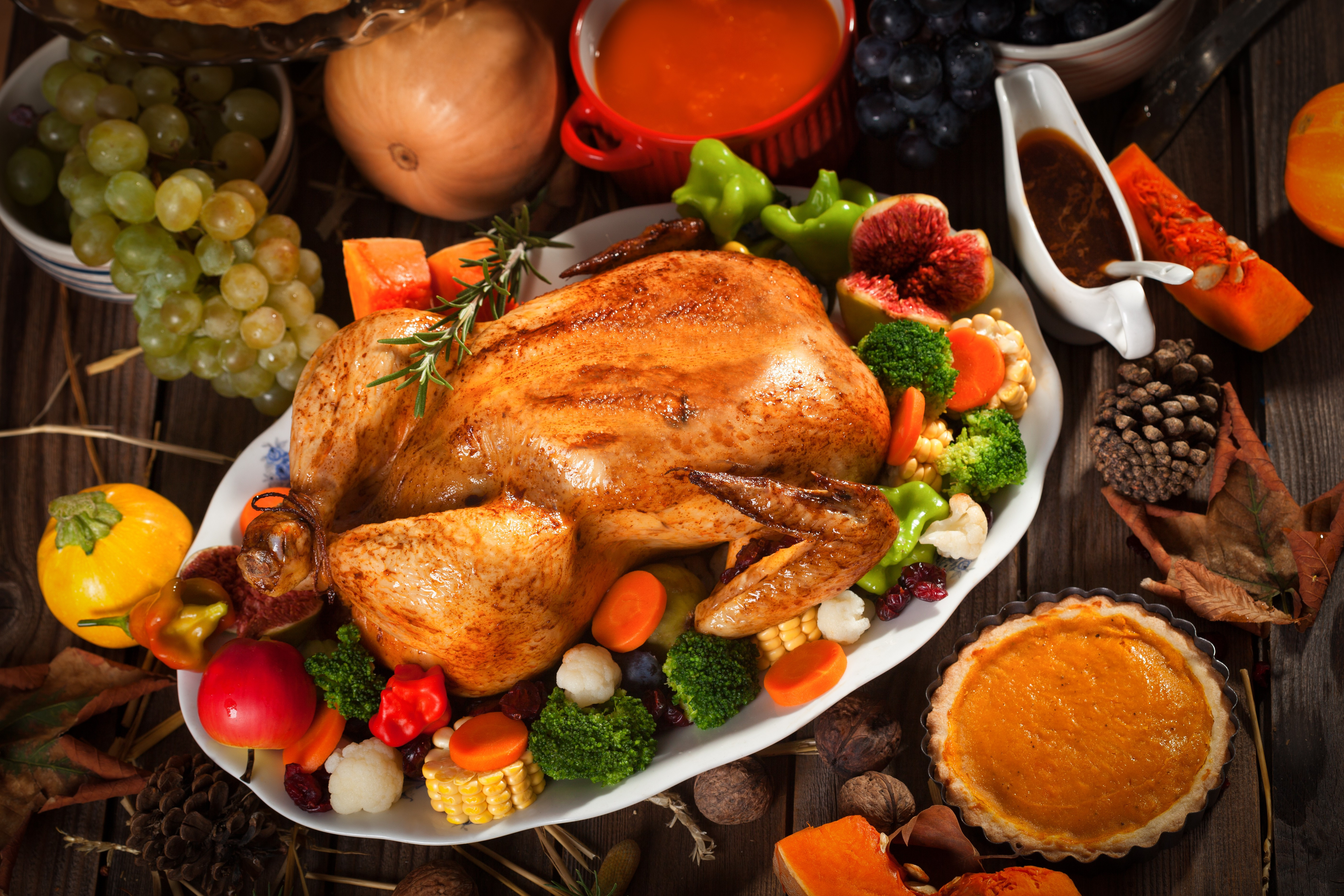 Typical Thanksgiving Dinner  How to Avoid a Holiday Disaster Thanksgiving 911