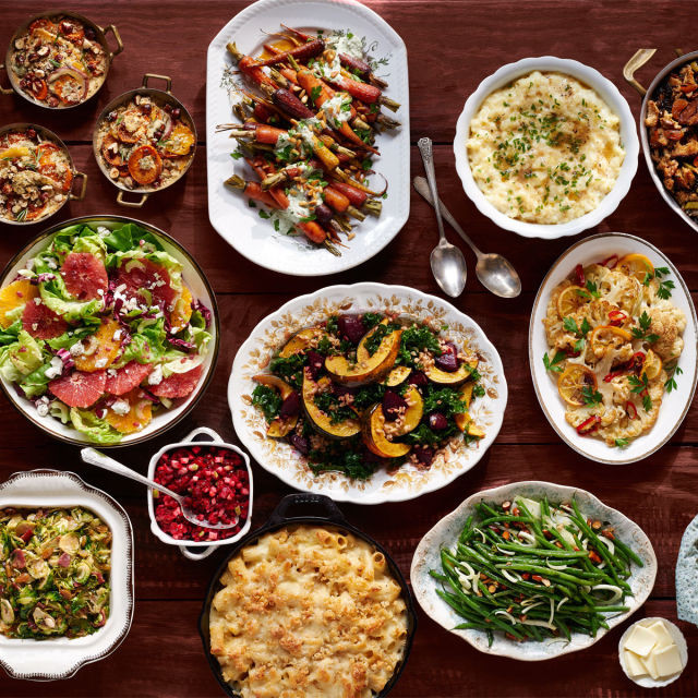 Typical Thanksgiving Dinner  Thanksgiving Menu Recipes Traditional Thanksgiving