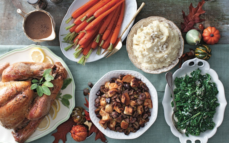 Typical Thanksgiving Dinner  Traditional Thanksgiving menu Chatelaine