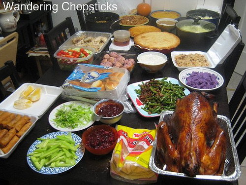 Typical Thanksgiving Dinner  Wandering Chopsticks Vietnamese Food Recipes and More
