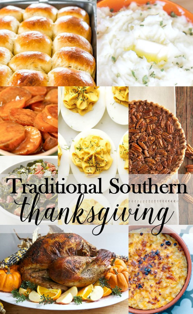 Typical Thanksgiving Dinner  Traditional Southern Thanksgiving Menu