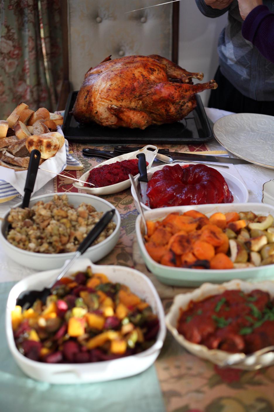 Typical Thanksgiving Dinner  What's for Thanksgiving Dinner Turkey or Cormorant