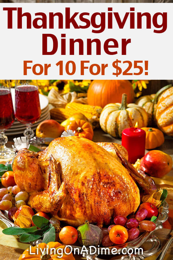 Typical Thanksgiving Dinner  Traditional Thanksgiving Recipes Dinner For 10 For Less
