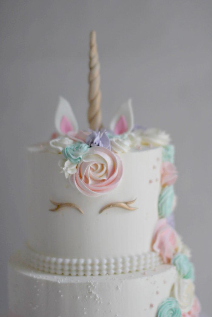 Unicorn Birthday Cake  Lizzie's Unicorn Birthday Cake