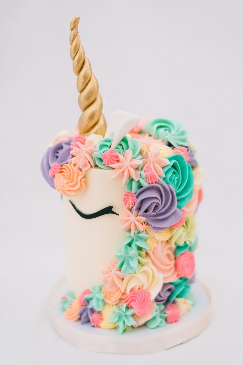 Unicorn Birthday Cake  Eunice The Unicorn Le Dolci