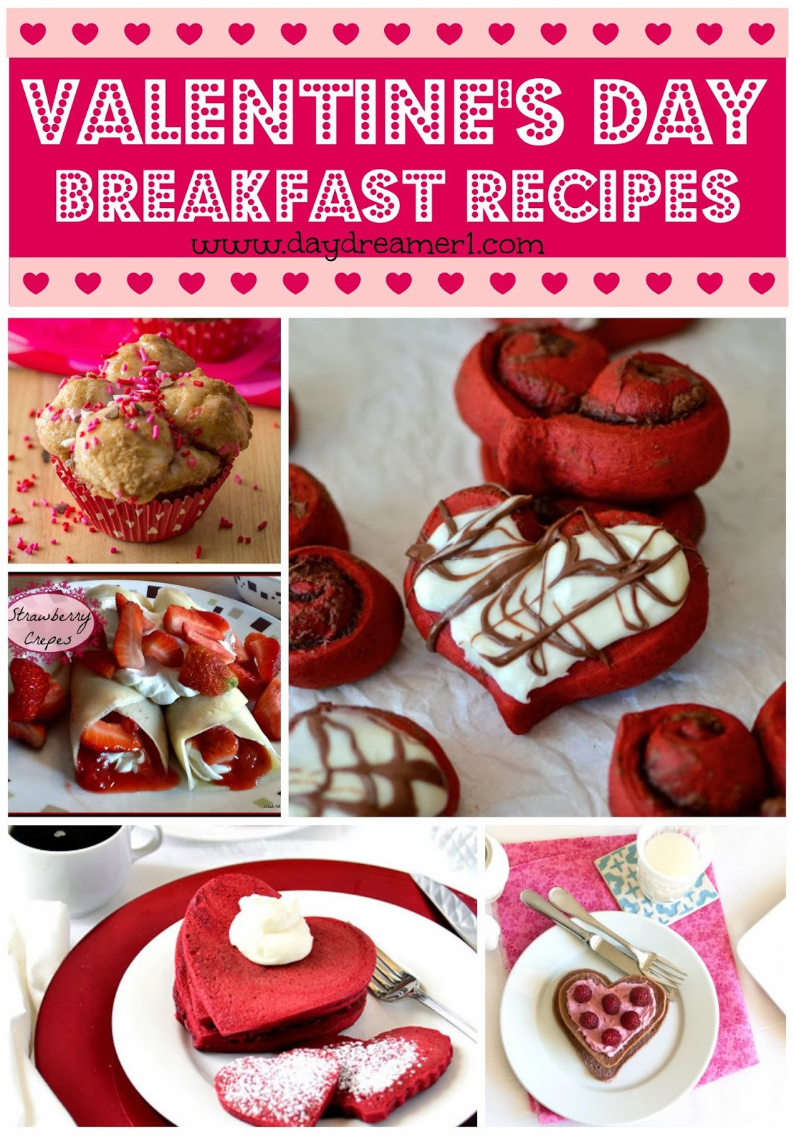 Valentines Day Breakfast Recipe  Breakfast Recipes Valentines Day Day Dreamer