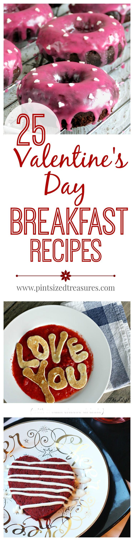 Valentines Day Breakfast Recipe  25 Valentine s Day Breakfast Recipes · Pint sized Treasures