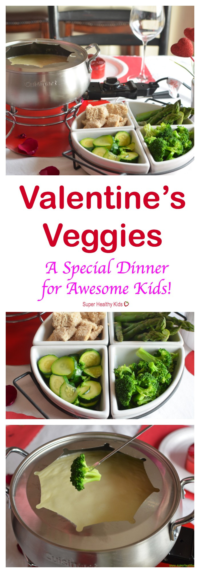 Valentines Dinner For Kids  Valentine s Veggies Special Dinner for Awesome Kids