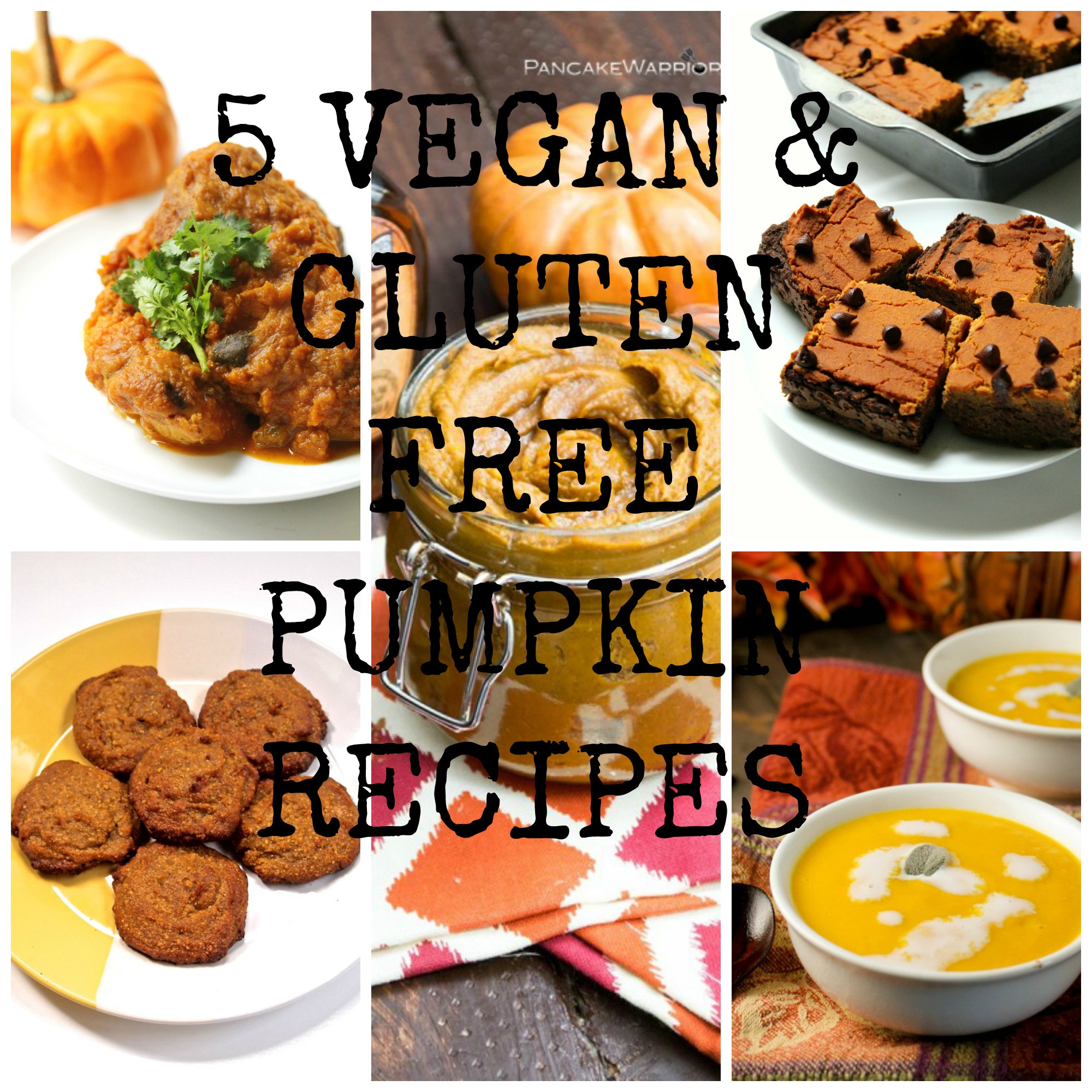 Vegan And Gluten Free Recipes  5 vegan & gluten free pumpkin recipes Free From Farmhouse
