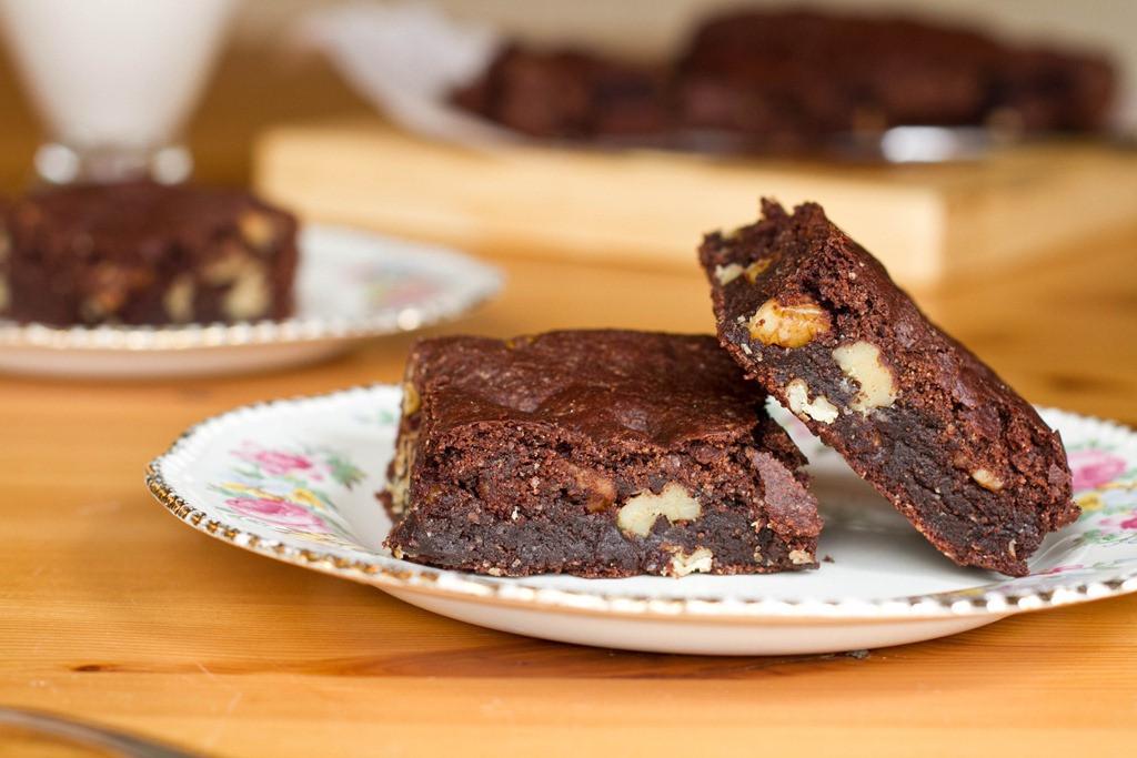 Vegan Baking Recipes  Vegan Brownies Two Ways — Oh She Glows