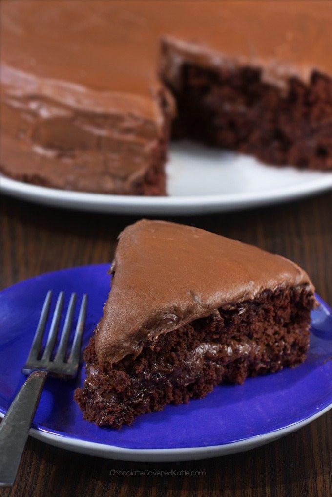 Vegan Baking Recipes  Vegan Chocolate Cake Non Vegan Approved Recipe