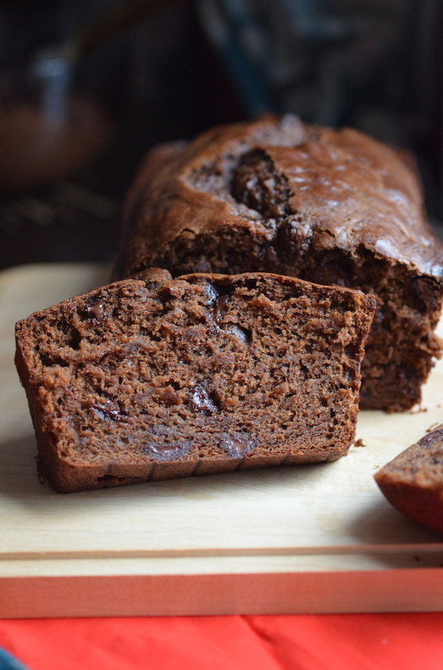Vegan Banana Bread Recipe  Vegan Chocolate Banana Bread