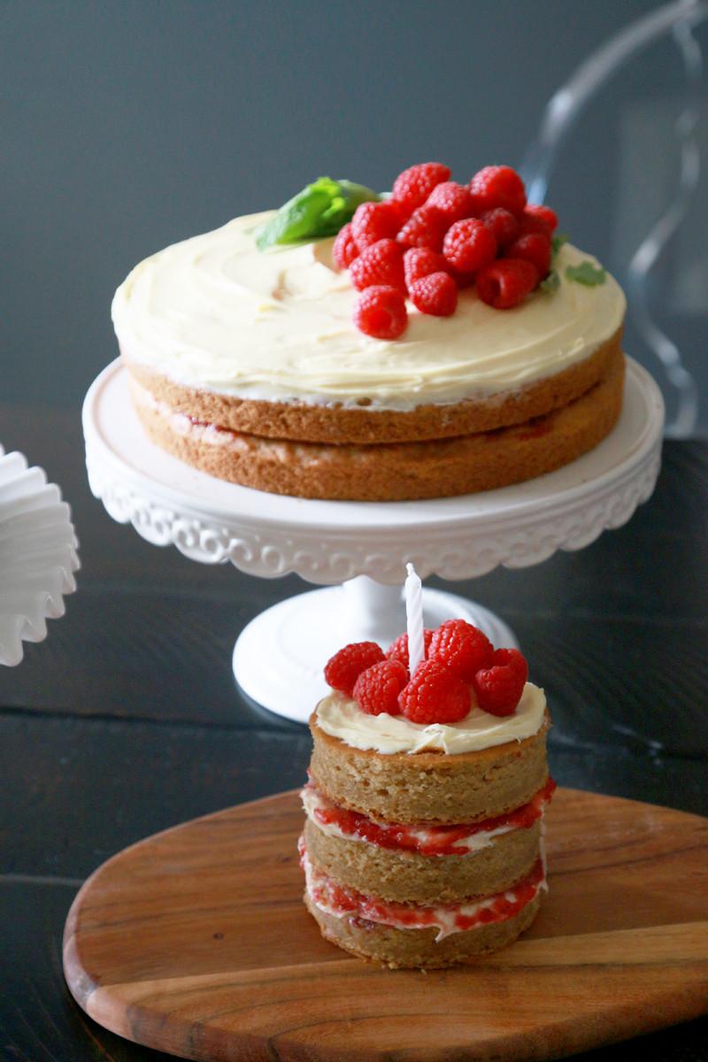 Vegan Birthday Cake  Vegan First Birthday Cake