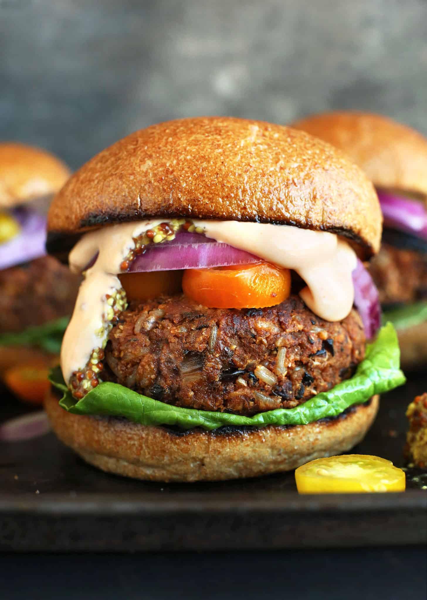 Vegan Burger Recipes  15 Mouth Watering Veggie Burger Recipes