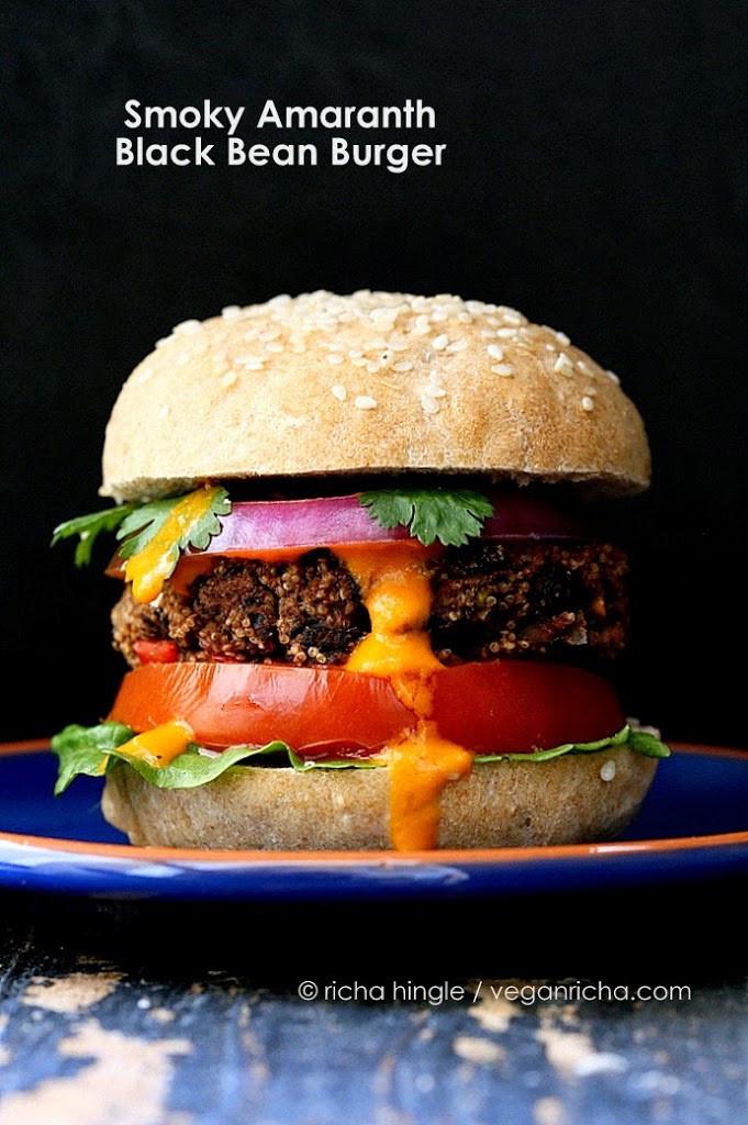 Vegan Burger Recipes  35 Vegan Veggie Burger Recipes Vegan Richa