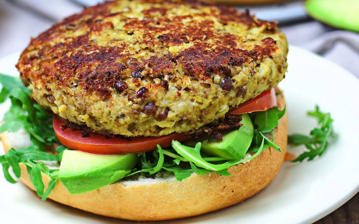 Vegan Burger Recipes  Cauliflower Veggie Burger [Vegan] e Green Planet