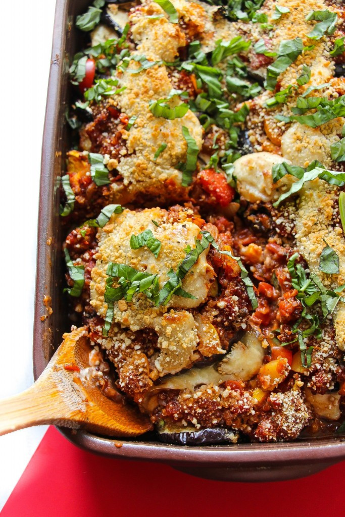 Vegan Eggplant Parmesan Vegan Eggplant Parmesan Bake Layers of Happiness