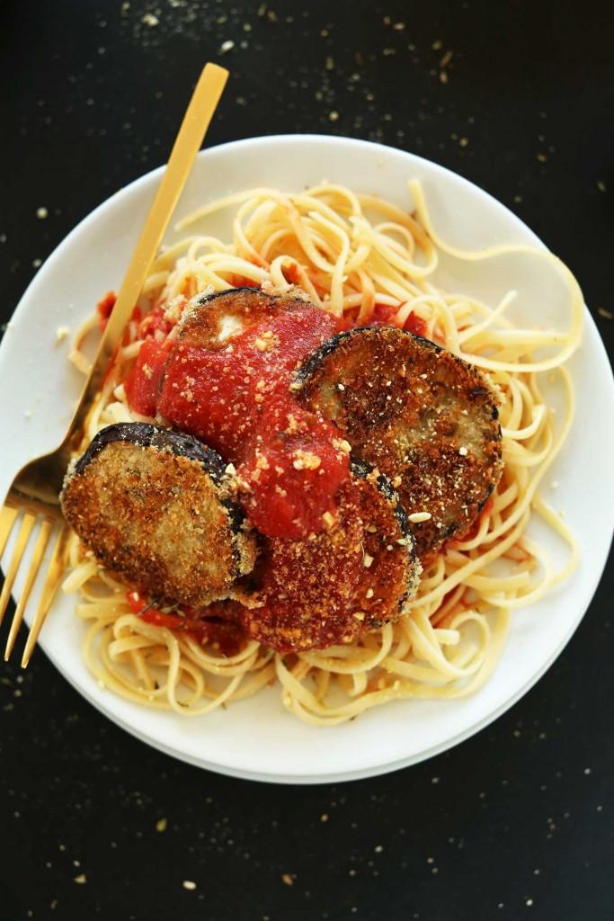 Vegan Eggplant Parmesan 17 Ve arian Pasta Dishes