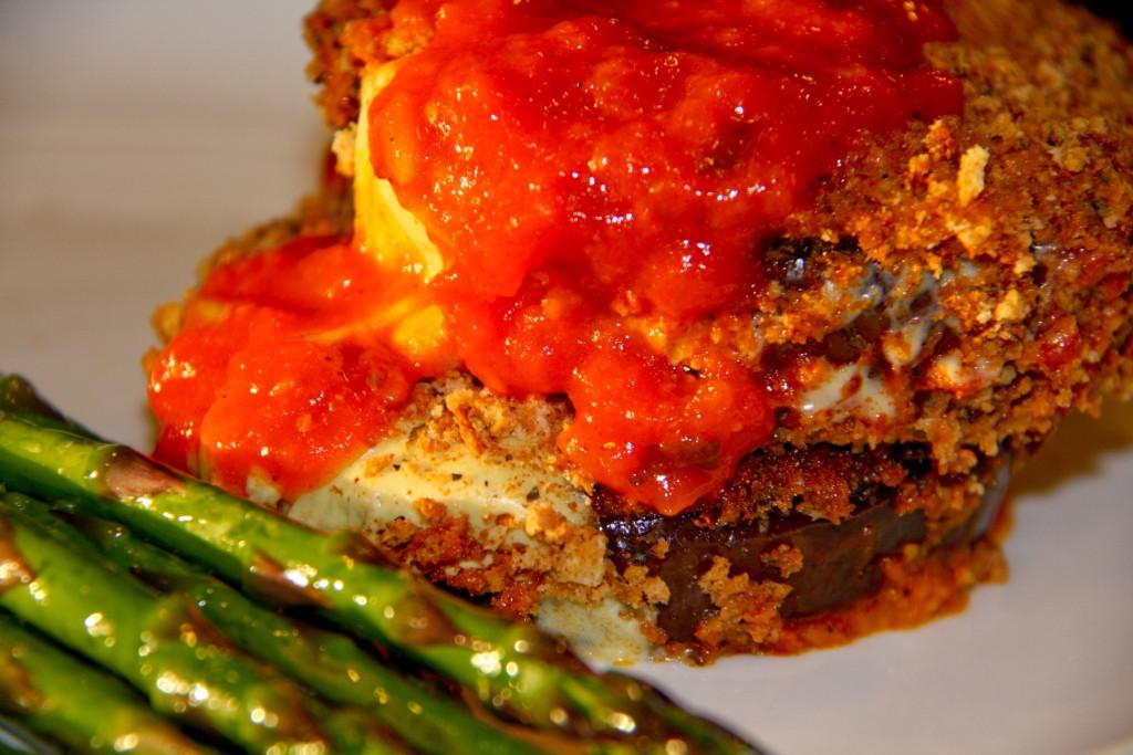 Vegan Eggplant Parmesan EGGPLANT PARMESAN – Vegan & GFree