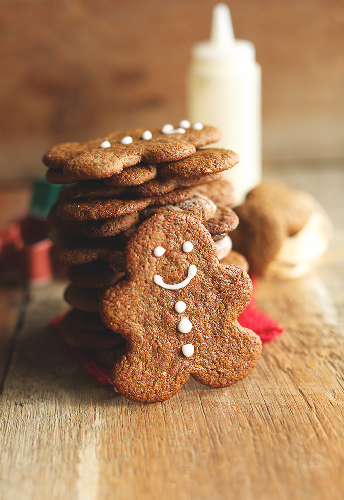 Vegan Gingerbread Cookies  Vegan Gluten Free Gingerbread Men