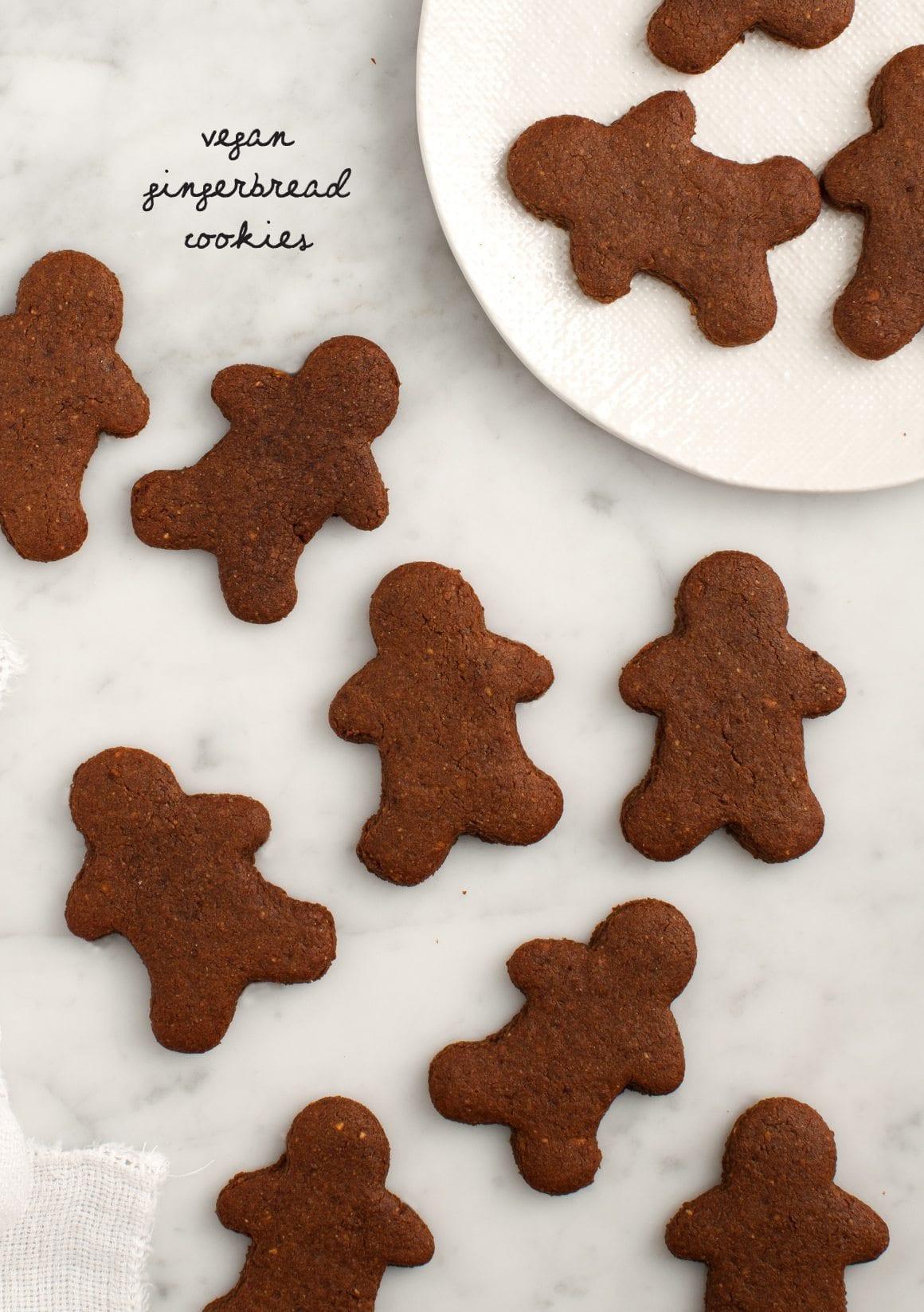 Vegan Gingerbread Cookies  Vegan Gingerbread Cookies Recipe Love and Lemons