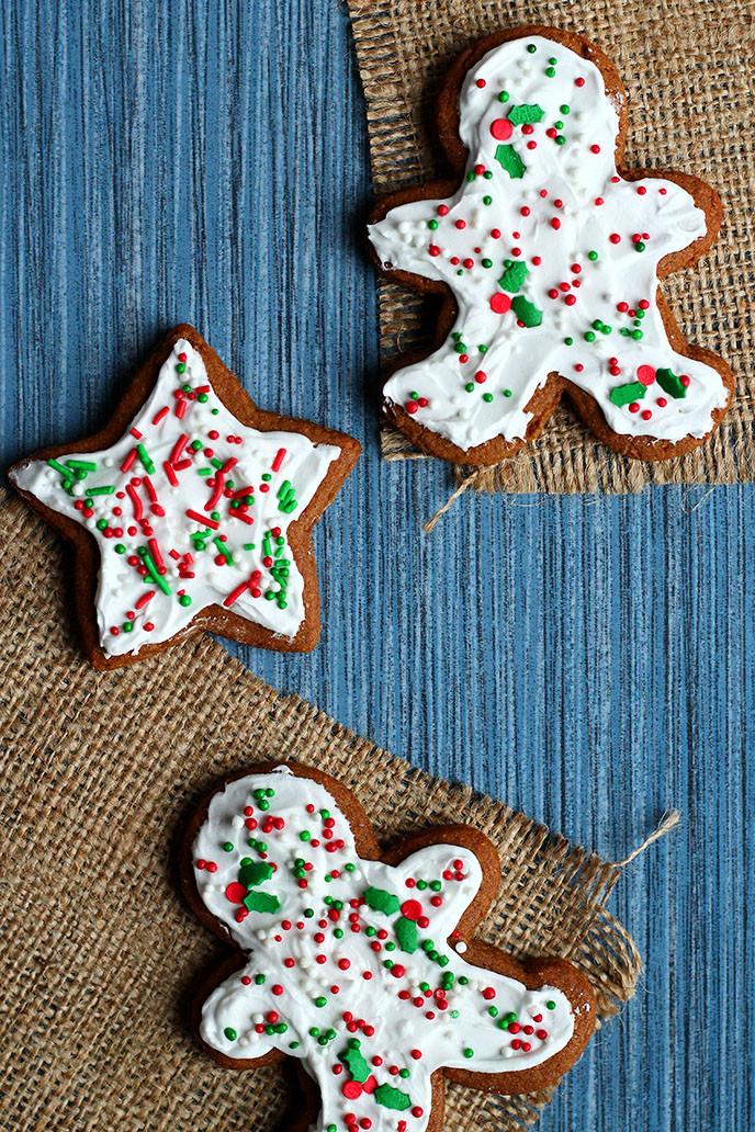 Vegan Gingerbread Cookies  Perfect Vegan Gingerbread Cookies I LOVE VEGAN