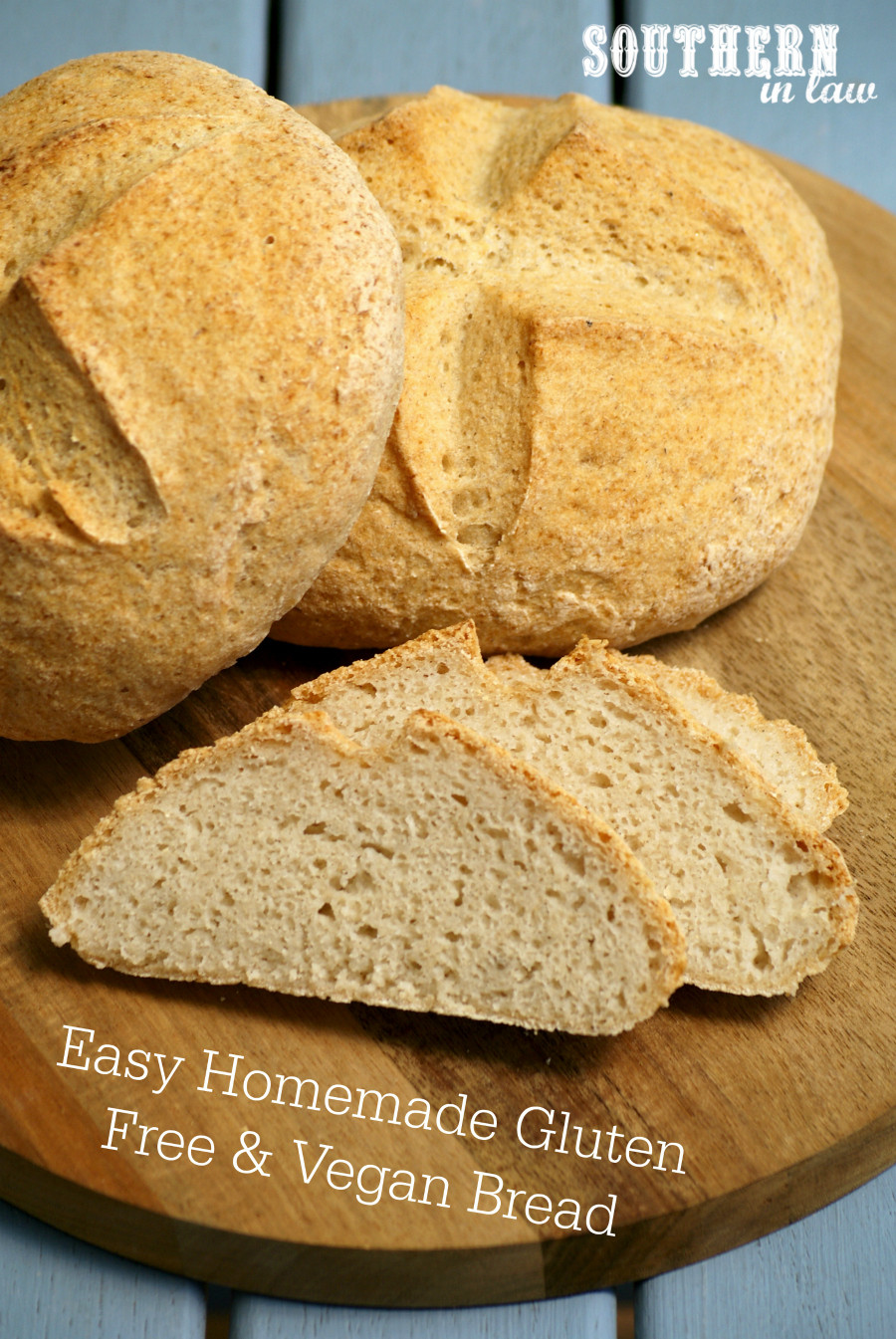 Vegan Gluten Free Bread  Southern In Law Recipe Easy Homemade Gluten Free and