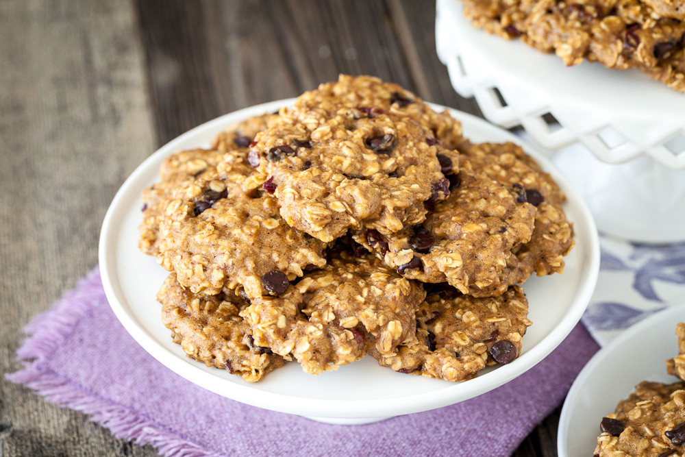 Vegan Oatmeal Chocolate Chip Cookies  The Best Vegan Oatmeal Chocolate Chip Cookies