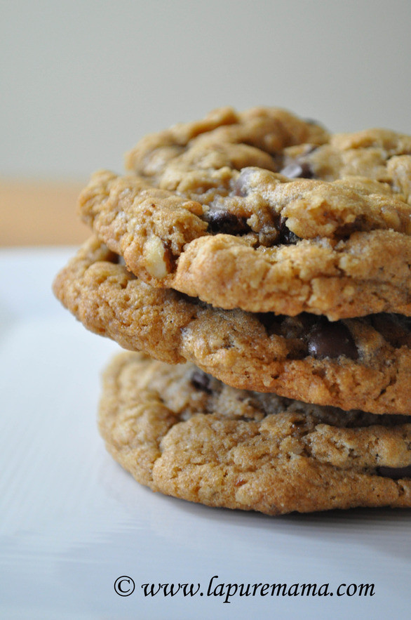 Vegan Oatmeal Chocolate Chip Cookies  Vegan Oatmeal Chocolate Chip Cookies Vegsource