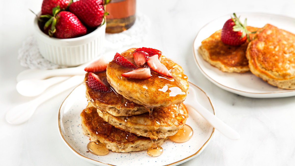 Vegan Oatmeal Pancakes  Vegan Oatmeal Pancakes Recipe Ve arian Times
