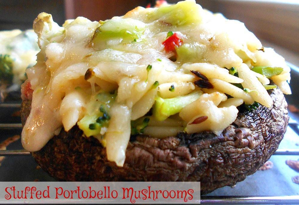 Vegan Portobello Mushroom Recipes  Stuffed Portobello Mushrooms Recipe Healing Tomato Recipes