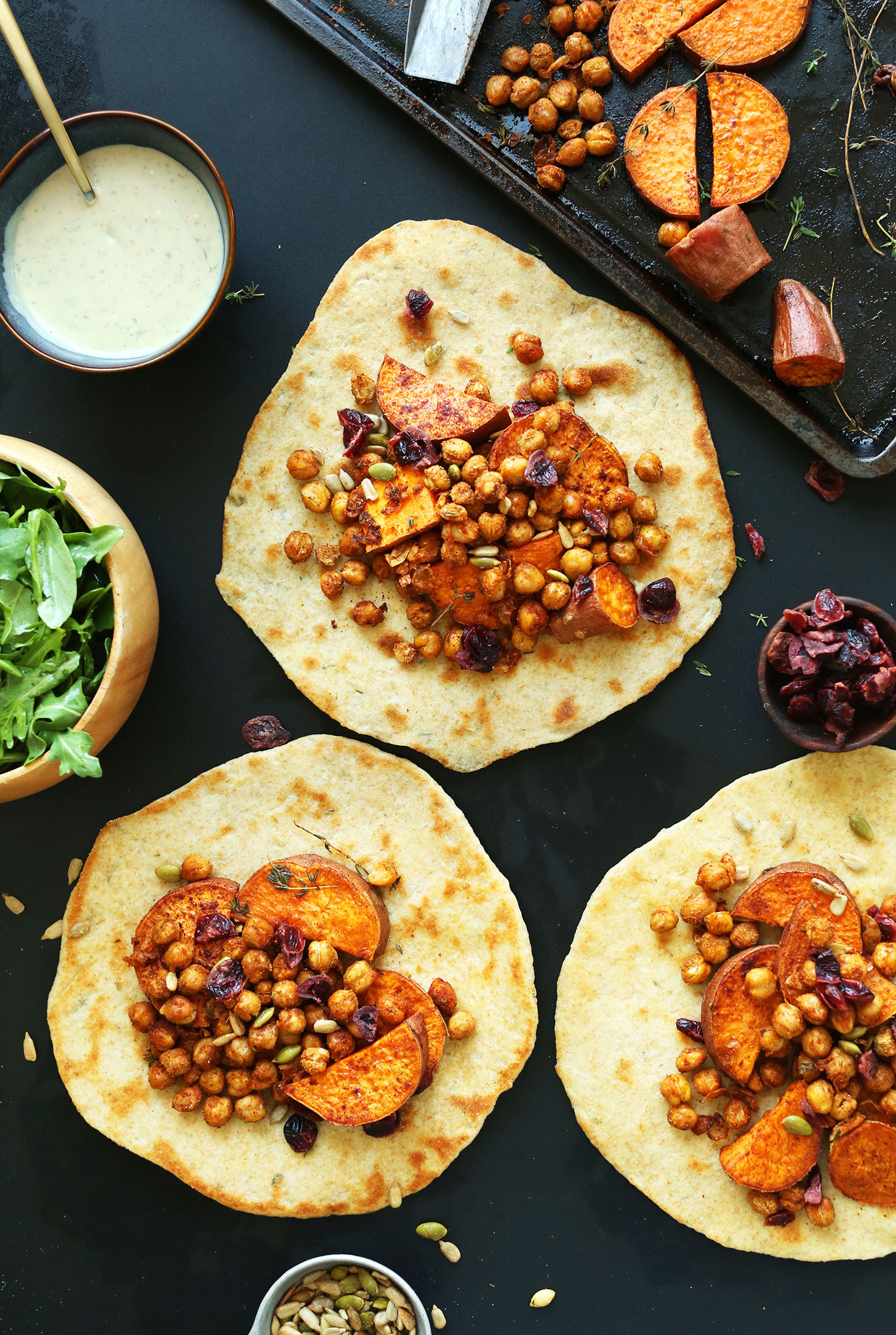 Vegan Thanksgiving Recipes  Vegan Thanksgiving Wraps