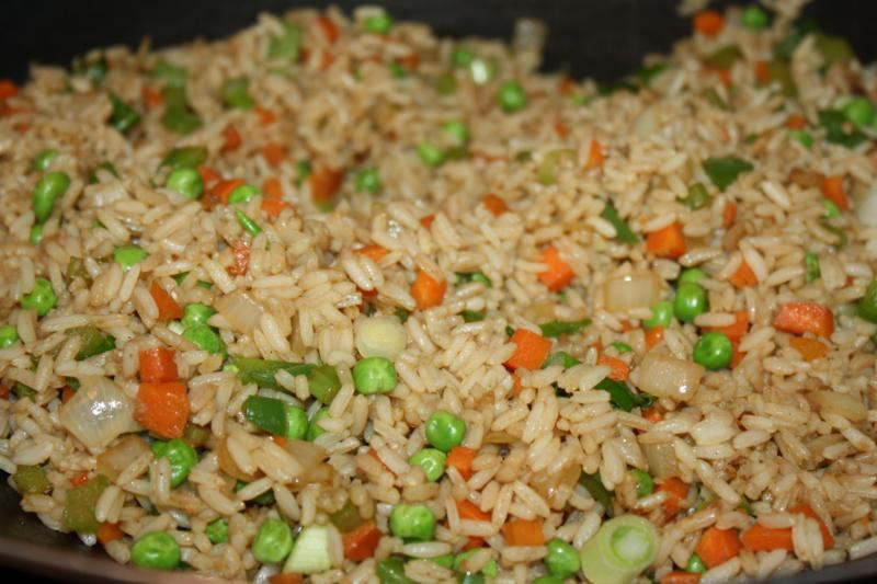 Vegetable Fried Rice  Scrumptious Ve able Fried Rice