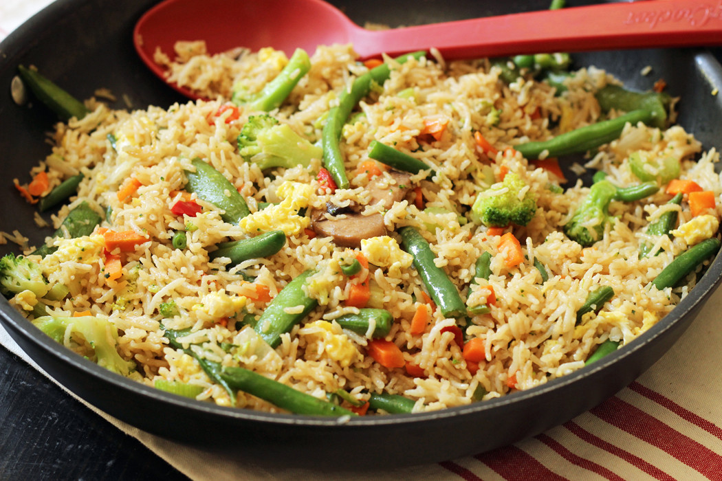 Vegetable Fried Rice  Ve able Fried Rice Good Cheap Eats