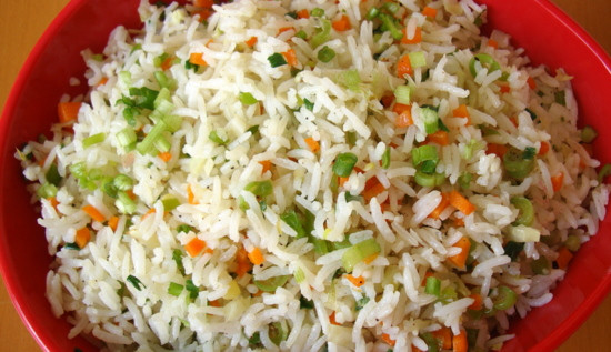 Vegetable Fried Rice  Ve able Fried Rice Indian food recipes Food and