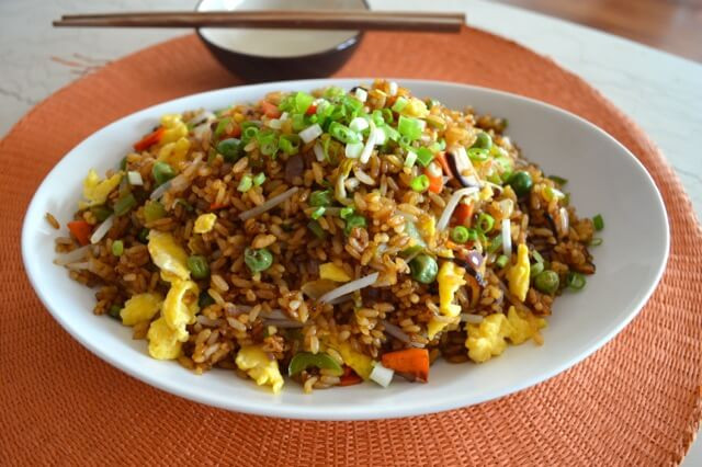 Vegetable Fried Rice  Ve able Fried Rice The Woks of Life
