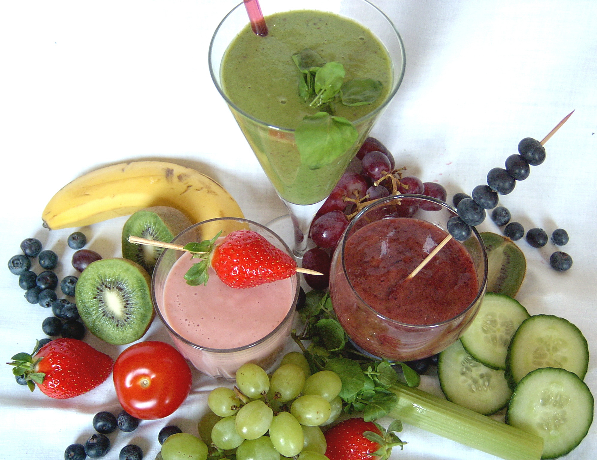 Vegetables And Fruits Smoothies  How to make Smoothies Fruit Smoothies Ve able