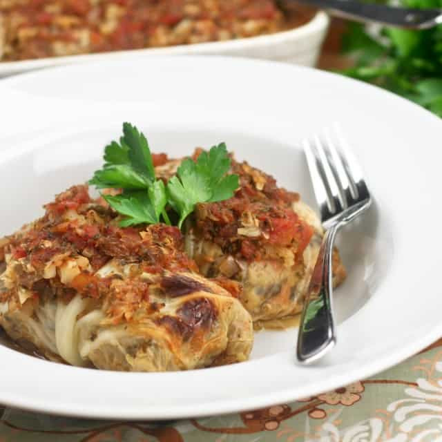 Vegetarian Cabbage Rolls  Fresh Coconut Macaroons
