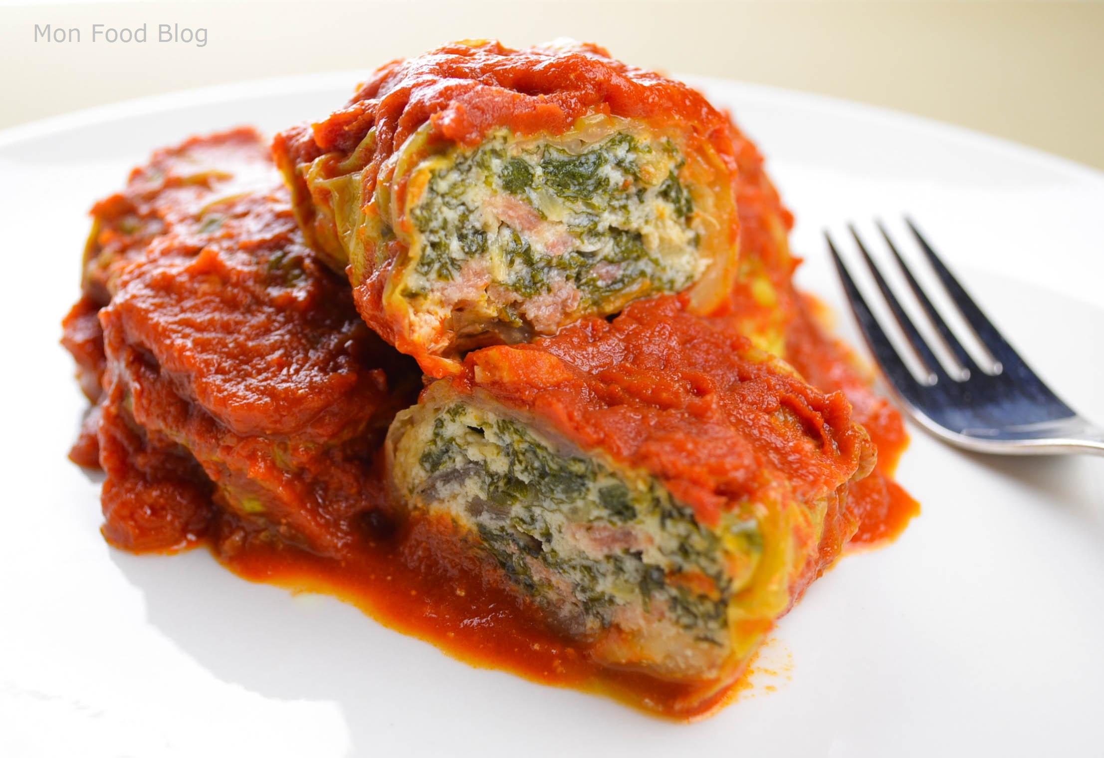 Vegetarian Cabbage Rolls  Cavolo ripieno – Mon Food Blog