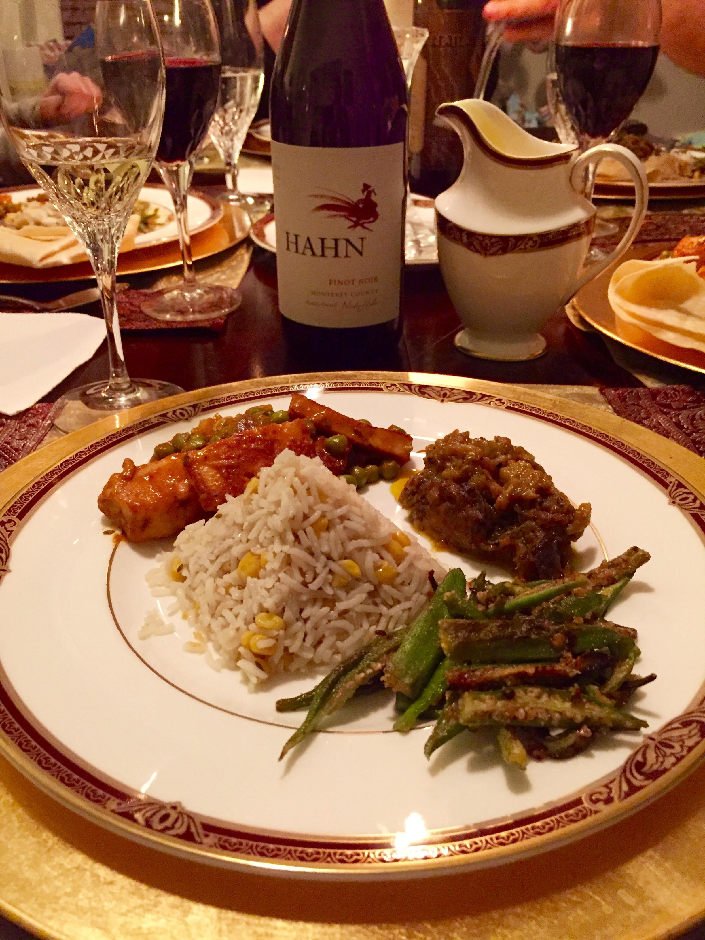 Vegetarian Dinner Party  Indian Ve arian Tasting Menu