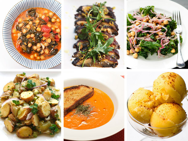 Vegetarian Dinner Party  Serious Entertaining The Vegan e Meal Convince A
