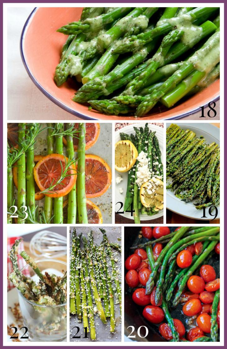 Vegetarian Main Dish Recipes  asparagus ve arian main dish recipes