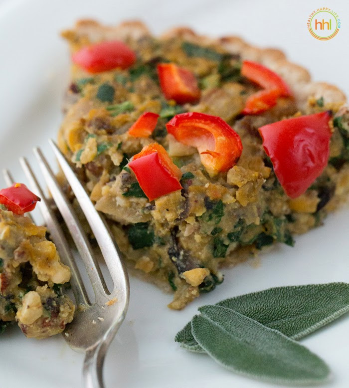 Vegetarian Main Dish Recipes  Vegan Holiday Main Dish Mushroom Chickpea Hazelnut Tart