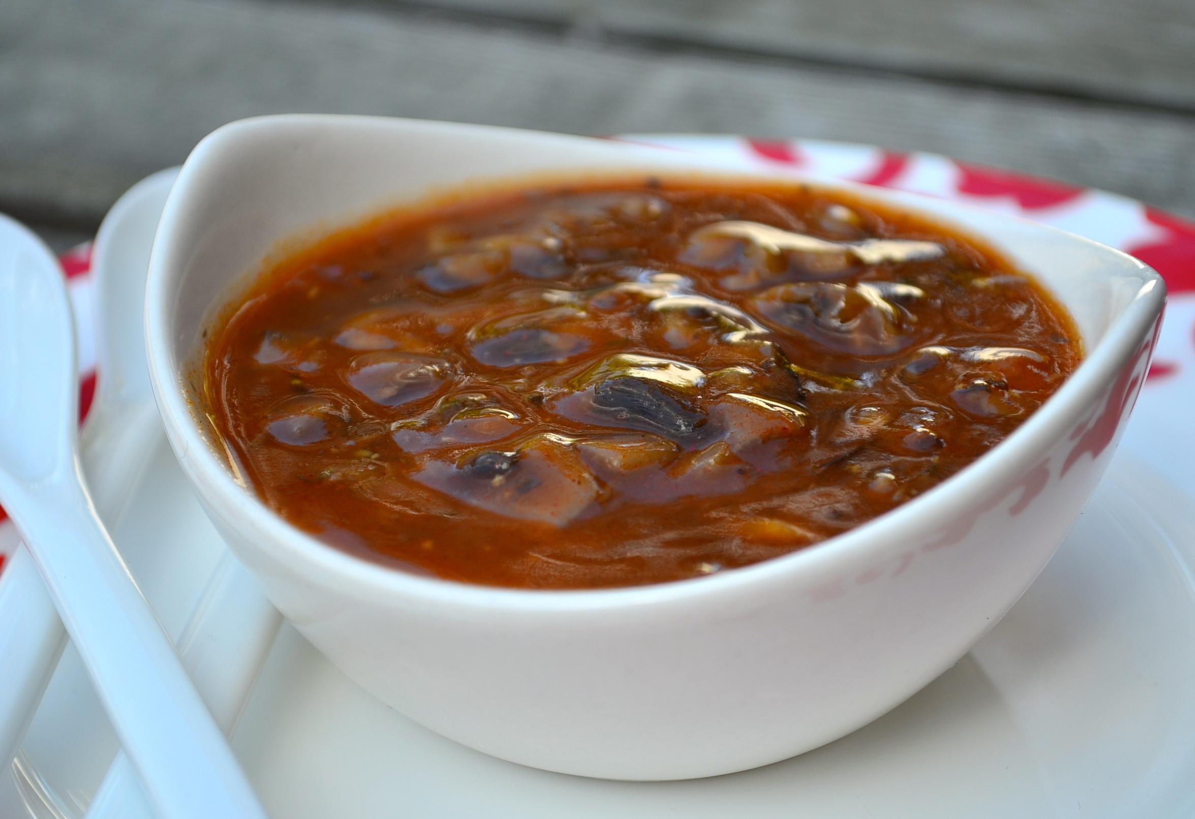 Vegetarian Mushroom Gravy  gravy