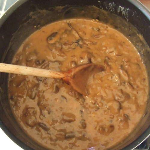 Vegetarian Mushroom Gravy  Ve arian Mushroom Gravy Recipegreat