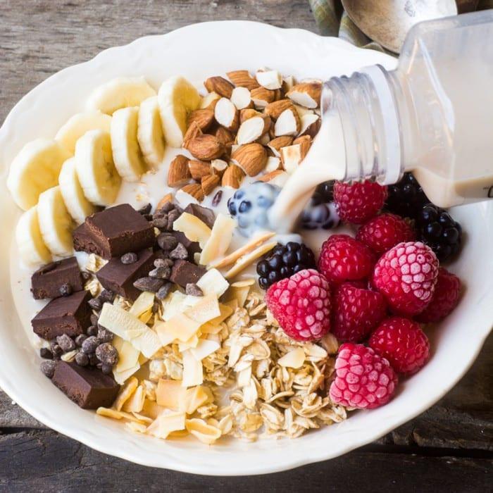 Vegetarian Protein Breakfast  Vegan Breakfast Bowls