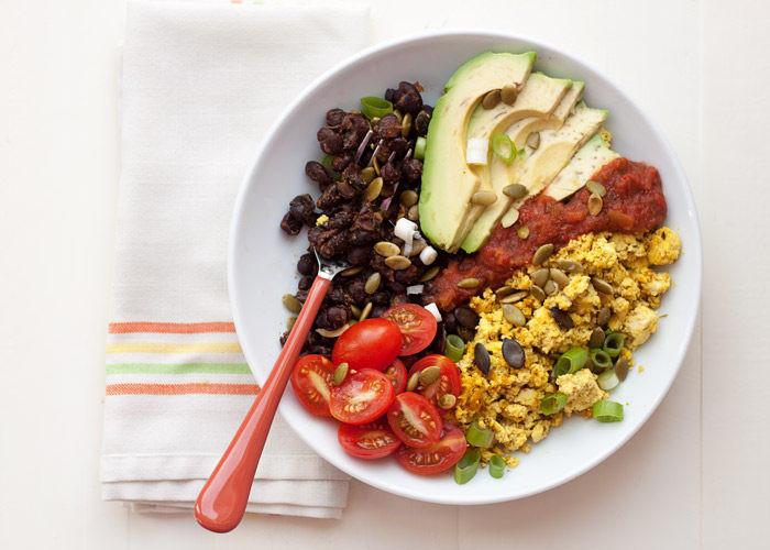 Vegetarian Protein Breakfast  Plant Protein Power Breakfast Bowls Kitchen Treaty