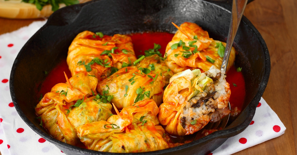 Vegetarian Stuffed Cabbage  Ve arian Stuffed Cabbage Rolls – 12 Tomatoes