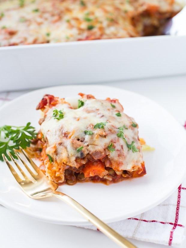 Vegetarian Stuffed Cabbage  Ve arian Stuffed Cabbage Casserole