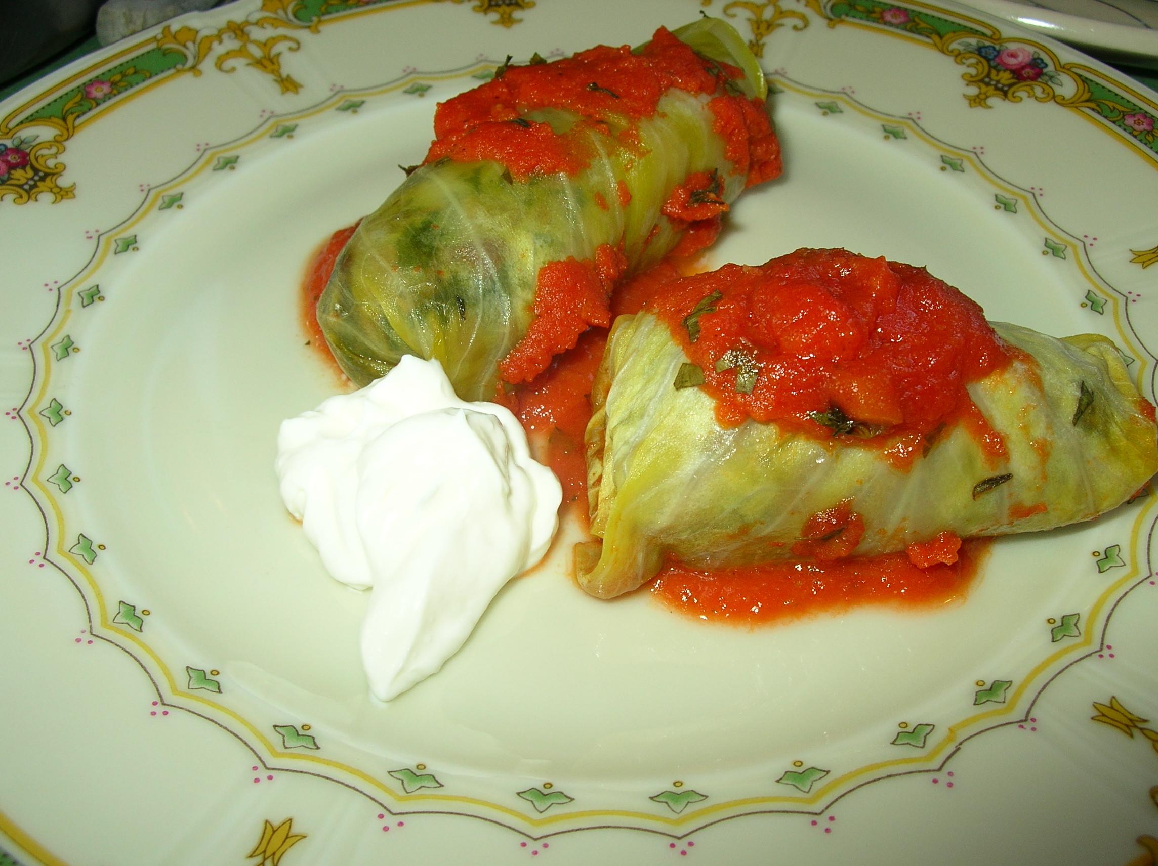 Vegetarian Stuffed Cabbage  Ve arian Stuffed Cabbage Rolls